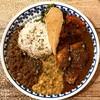 spice curry mokuromi - 料理写真:3種盛り ポーク・豆・蕗の薹とラムの味噌キーマ