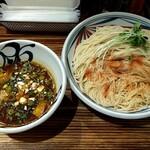 麺鮮醤油房 周月 - 202104裏メニュー(赤つけそば 880円)