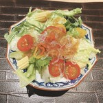 個室和食 肉割烹 吟次郎 - グリーンサラダ