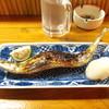 どん - 料理写真:さんま塩焼き