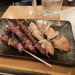 14992087 - 鳥串、砂肝、豚さがり