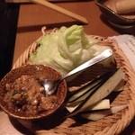 しゃぶしゃぶ 温野菜 - 肉味噌