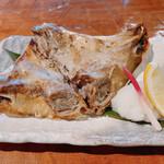 伊豆高原ビール本店レストラン - マグロのど肉塩焼き