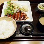 14993283 - 蔵尾ポークとんてきランチ(\980、2012年9月)