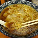 東京らぁめん 青龍 - 麺は中細麺