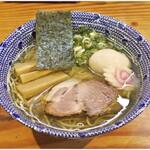 らーめん侘助 - 塩らーめん+味玉 800+100円