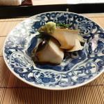 懐石料理 桝田 - 蒸しあわび