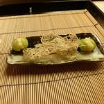 懐石料理 桝田 - 八寸(たたみ鰯)