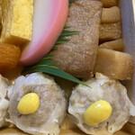 崎陽軒 - 私は辛子だけで付けて食べました