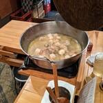 鶏や 梅の湯 - つくね