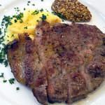 14995397 - 選べる主菜,米豚の炭火焼,マッシュポテト添え