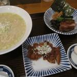 14995571 - 鶏白湯排骨麺(塩・細麺) 1,207円