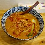 手作り餃子 西遊記 マーラータン - 料理写真:担々麺:辛さ痺れは控えめ?