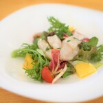アドゥエパッシ - 第2前菜のオレンジのサラダ