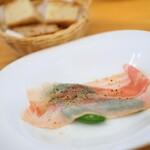 アドゥエパッシ - 第2前菜のベーコン