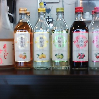 焼酎・果実酒・紹興酒