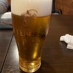 毘央志 - 生ビール