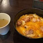 毘央志 - 親子丼とスープ
