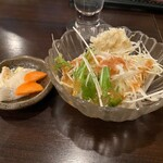 毘央志 - サラダと漬物