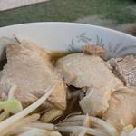 ラーメン二郎 - お肉 おいしい