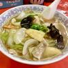 木蘭 - 料理写真:五目ラーメン テリが素敵だ
