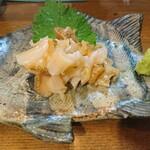 津軽海峡を渡って来た男 あきら - 活つぶ刺(980円)