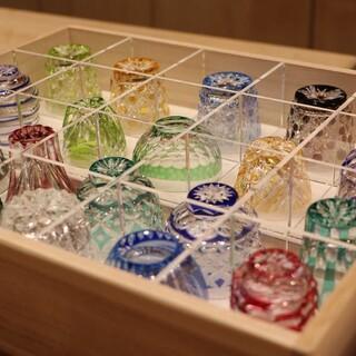 日本酒、ワイン、シャンパンなど、お飲物も厳選。