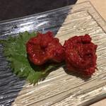 東京焼肉 平城苑 - 果実のような梅干しキムチ