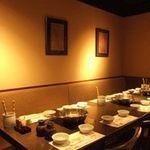 鍋ぞう - 2名様~80名様まで各種宴会スペースあります。