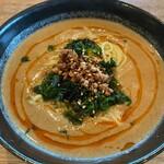 カルティベイト - 自家製胡麻の濃厚豆乳担々麺