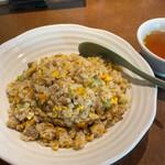 ひちょう - ひちょう(チャーハン※大、スープ)