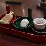 蕎麦 春風荘 - 薬味☆