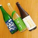 KEYUCA Deli - 本日の日本酒リスト