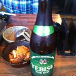 14998739 - 瓶ビールはエビスのThe HOP。