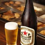 なると - おでんには欠かせない瓶ビール 一人でゆったり、お友達と酌み交わしながら、お楽しみ下さい
