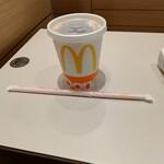 マクドナルド - ドリンク写真:100円のアイスコーヒー