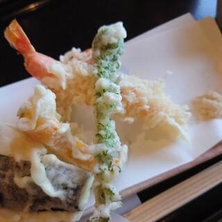 はぎ乃 - 料理写真:天ぷら。