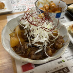 餃子製作所 酔処 土竜 - 土手煮(みそ味) 780円