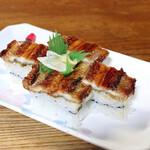泉屋 - あなご押し寿司