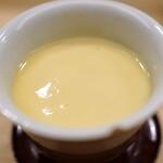 日本橋蛎殻町 すぎた - 海鼠腸の茶碗蒸し