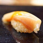 日本橋蛎殻町 すぎた - 子持ちヤリイカ