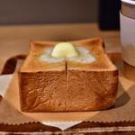 149995665 - 【厚切りトーストセット@税込880円】トースト