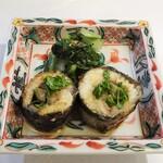 149996170 - 蕎麦前と蕎麦を出すランチ:鰻の八幡巻