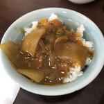 長崎菜館 - サービスカレー