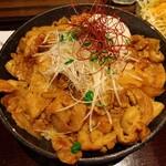 豚しゃぶ・やきとん 森の酒場 隠豚 - スタミナ温玉豚丼