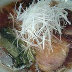 中華そば 麺や食堂 - 焦がしねぎそば
