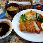 ぱんどら - 特選とんかつセット(1,500円)