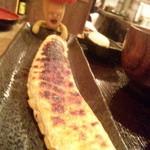 15000100 - サーモンハラス干し定食(890円) ながっ 負けた!