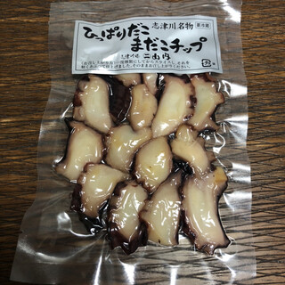 山内鮮魚店 - 料理写真:ひっぱりだこ まだこチップ