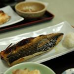 丸の内食堂 - 塩サバ定食